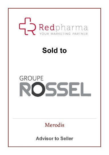 Merodis advises sale of Redpharma to Groupe Rossel